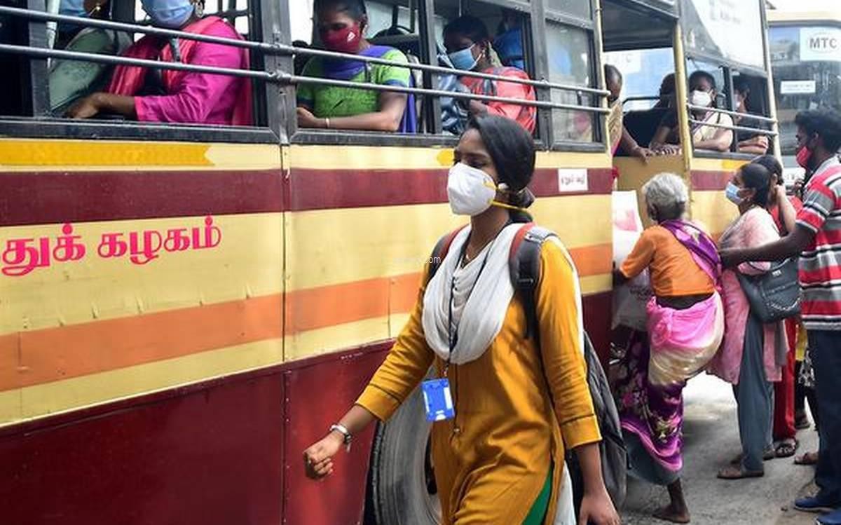 ladies government bus free