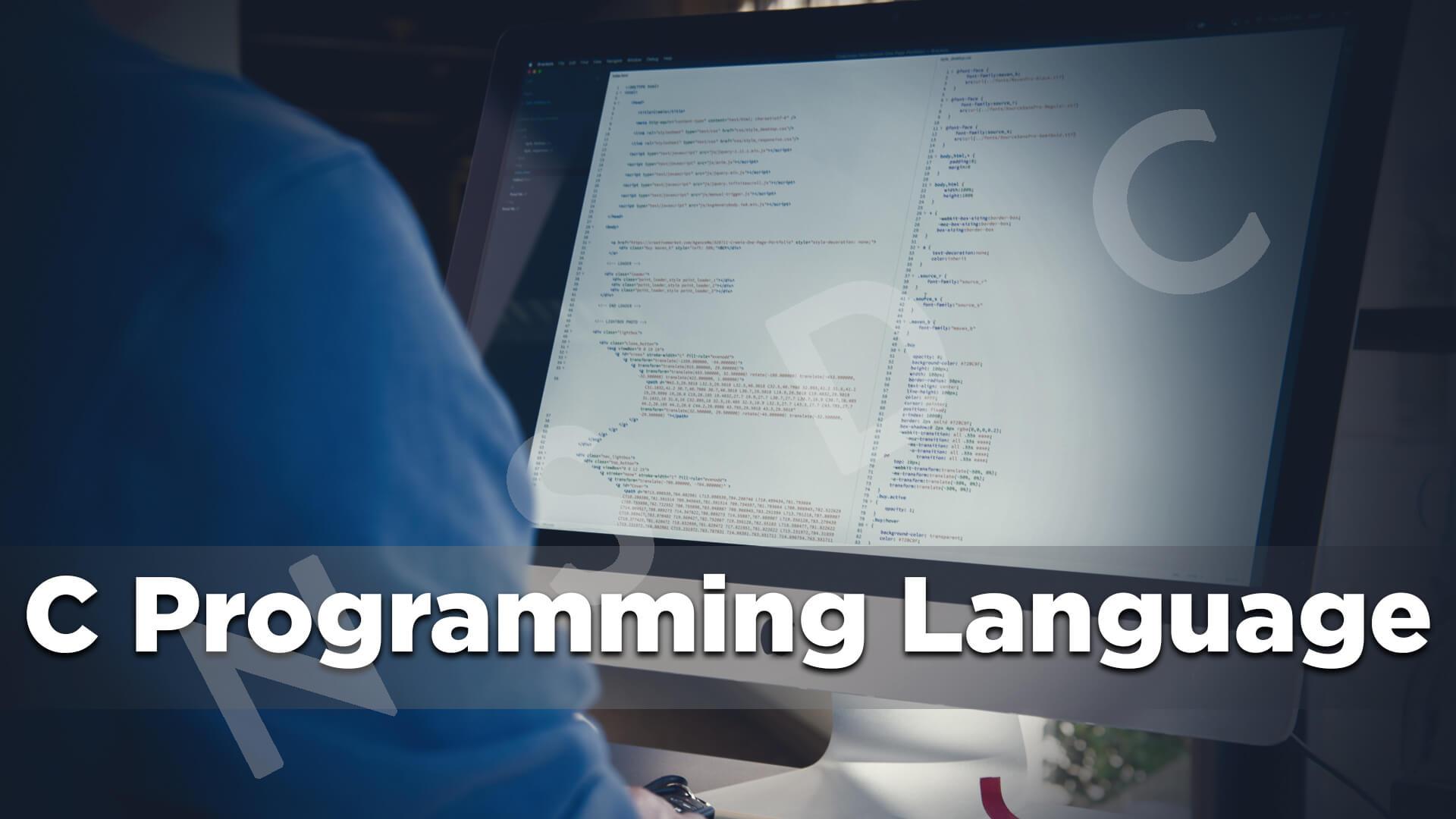 C Programming - FREE online videos