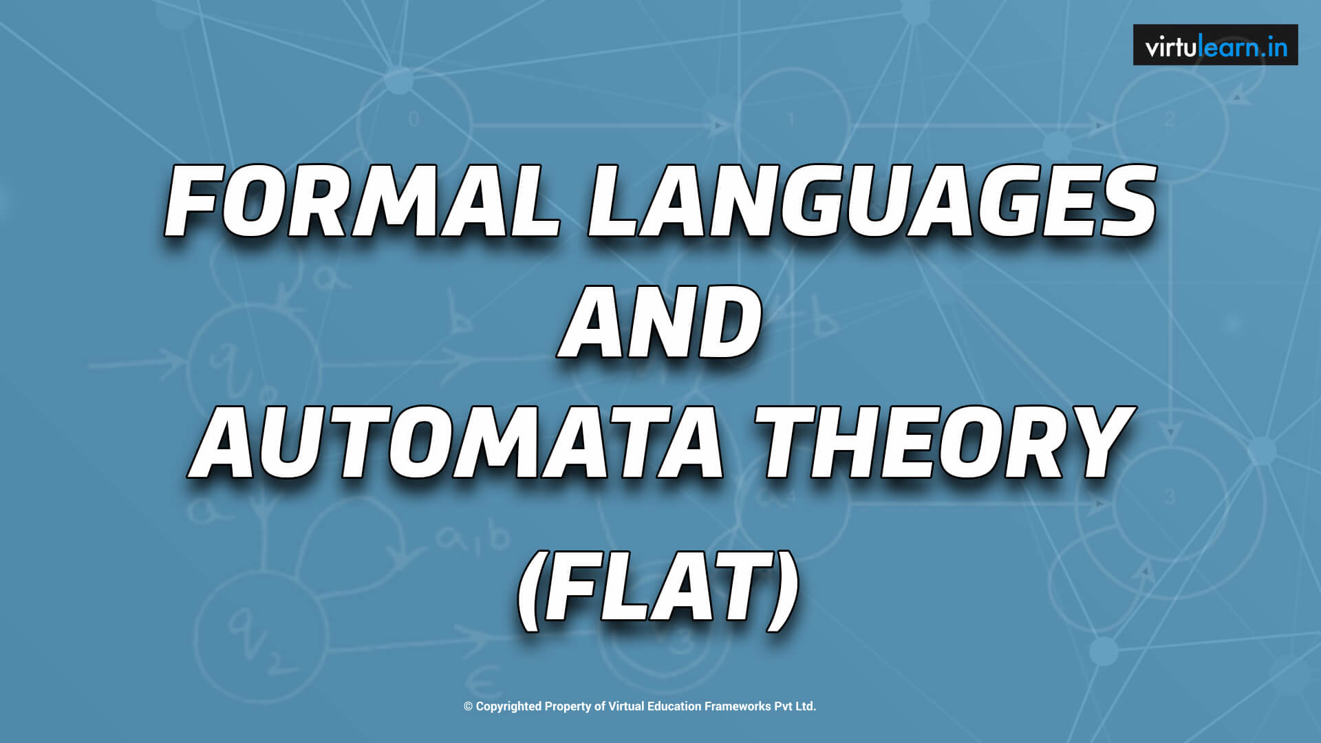 Formal Languages and Automata Theory (FLAT) online videos