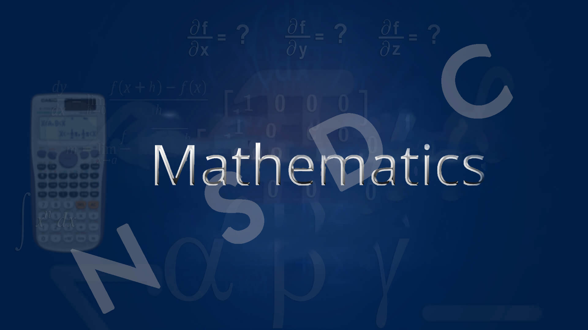 Mathematics - FREE online videos
