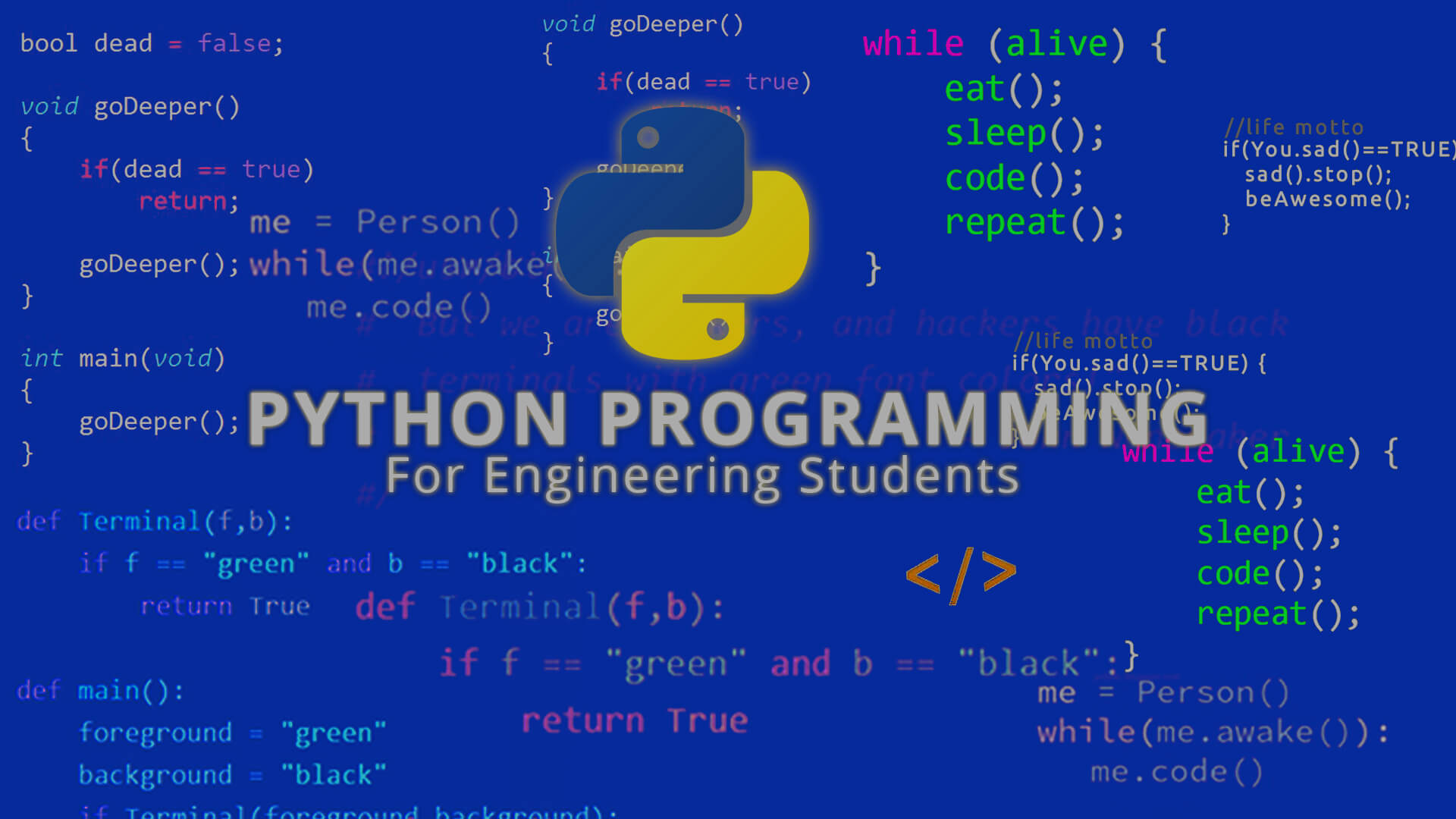 Python Programming For Engineering Students