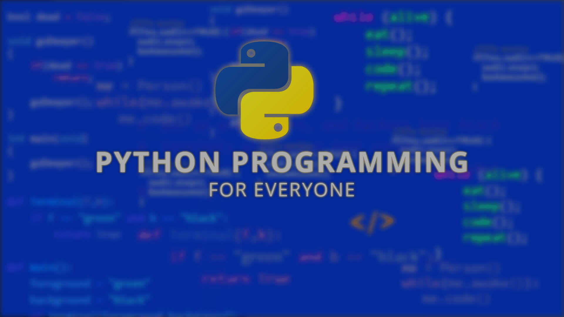 Python Programming online videos