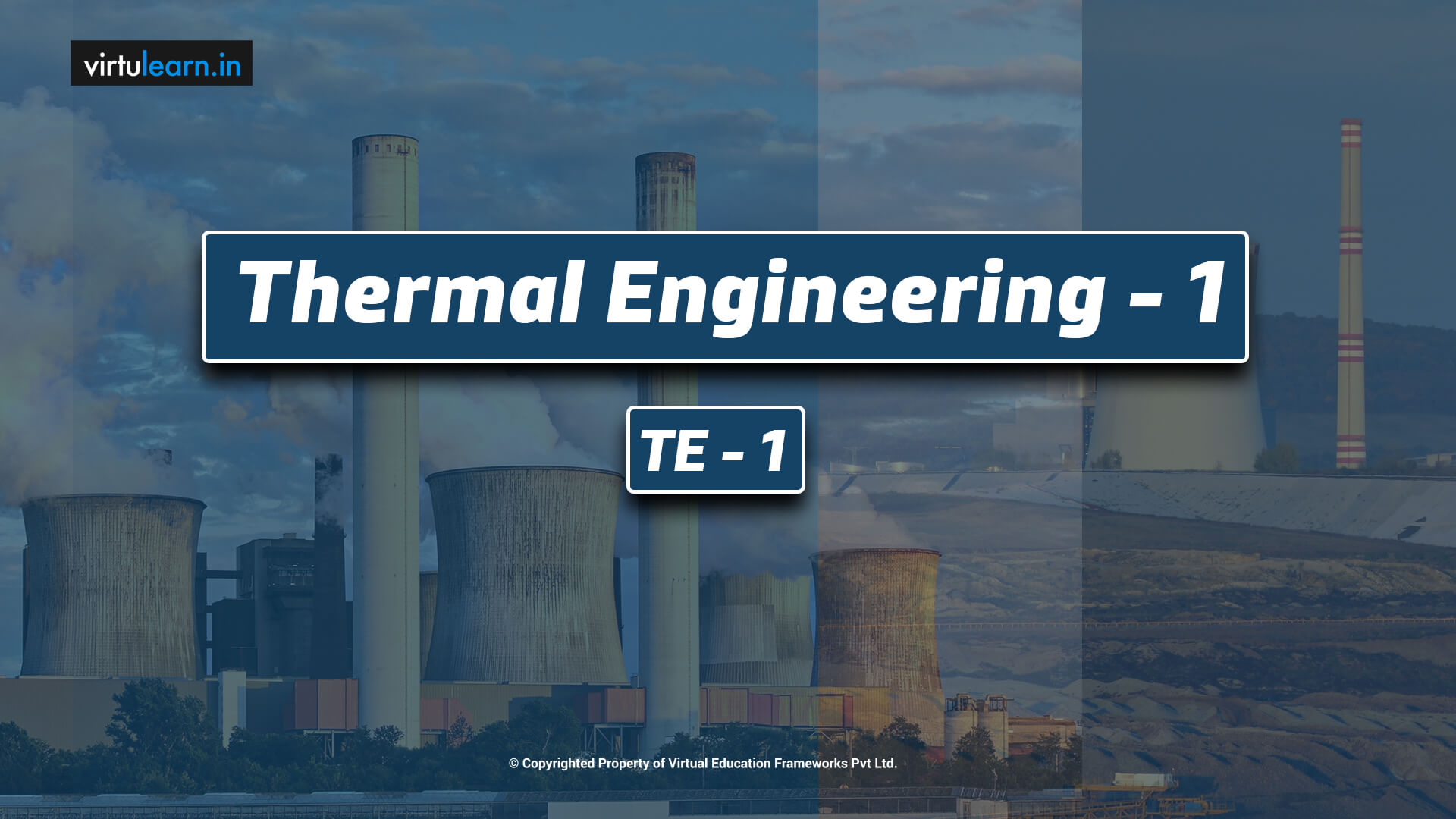 Thermal Engineering-1 (TE-1) online videos