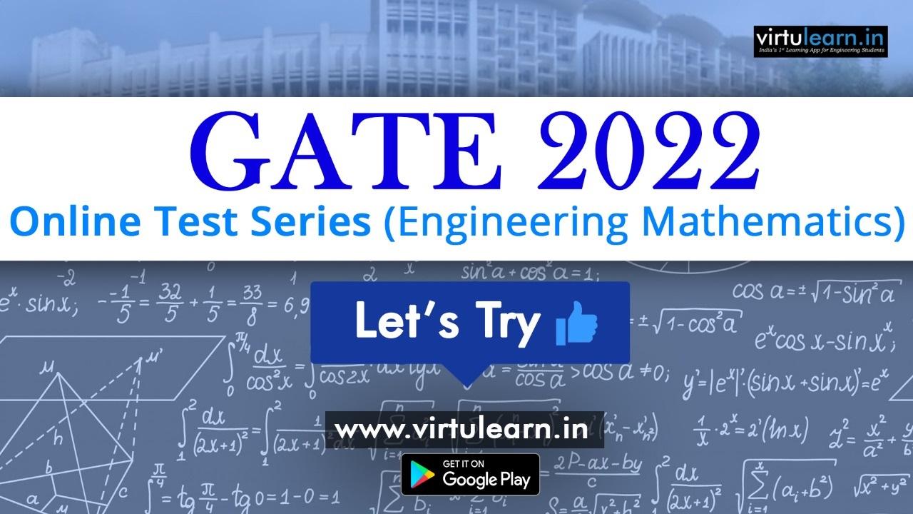 GATE 2021 - Test Series (Engineering Mathematics) online videos