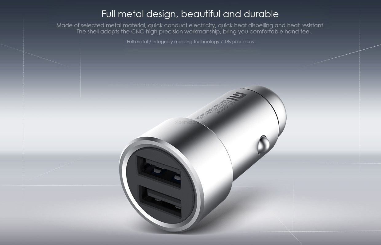 Xiaomi Fast Car Charger Metal Style