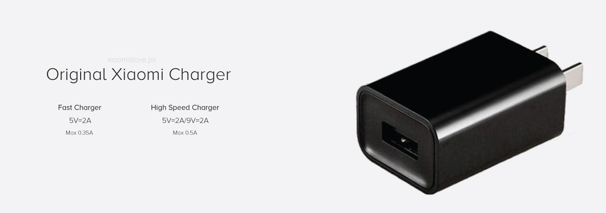 Xiaomi High Speed Charger 2A with cable