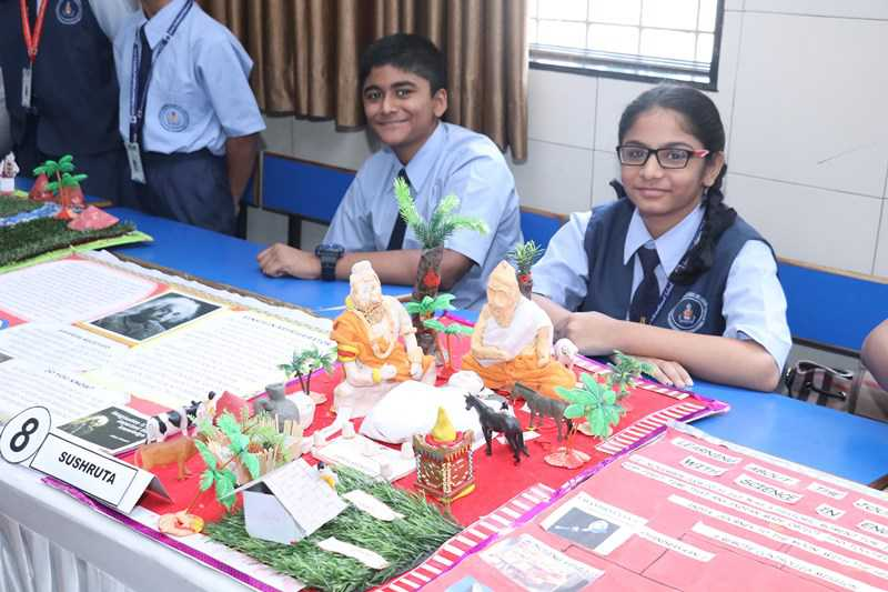 D Exhibition In Borivali : Swami vivekanand international school borivali