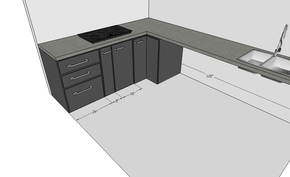 Modular Kitchen Design Corner