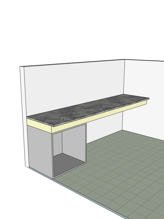 Modular Kitchen Fitted Unit