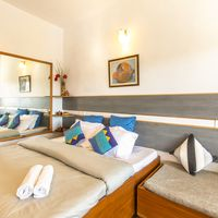 Well equipped private rooms of our traveler hostel near Nainital