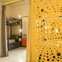 6 bed mixed dorm in Zostel South Delhi