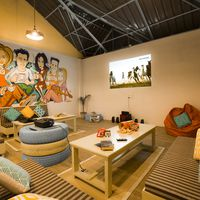 Relax at our cosy lounge in Dalhousie hostel