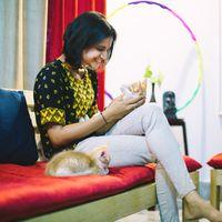 Meet Kedi, the furry host of this hostel Mysore.