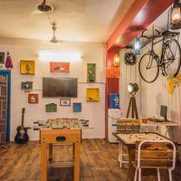 Common room of Zostel Jodhpur