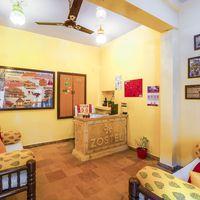 Reception of Zostel Jaisalmer
