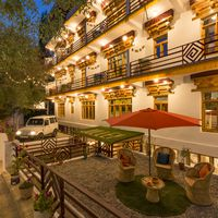 Exterior shot of Hostel Leh