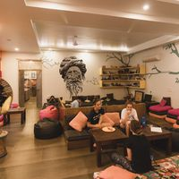 Jaipur Hostel Common area