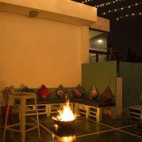 Bonfire in Zostel Vasant Kunj