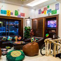 Zostel Delhi Common room