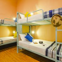 Cosy bunk beds of Zostel Aurangabad Dorm Room