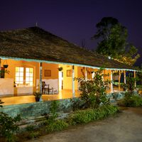 Traditional style architecture in Wayanad hostel
