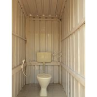 Common washroom in Zostel Coorg