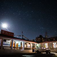 Stargazing at Hostel Spiti