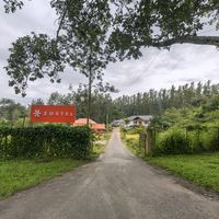 Zostel Chikmagalur entrance