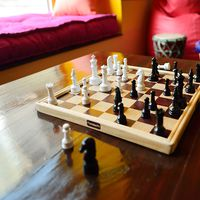 How about a chess game in our common area