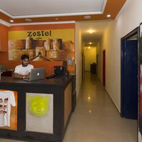 Zostel Agra reception