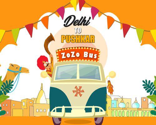 Zostel Escape   ZoZo Bus Pushkar - 13th September