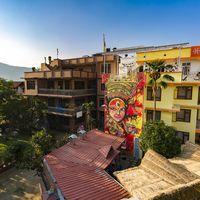 Exterior shot of Zostel Kathmandu
