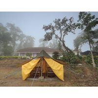 Tent at Zostel Coorg premises