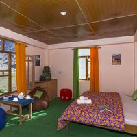 Private room with Valley view in Spiti Hostel