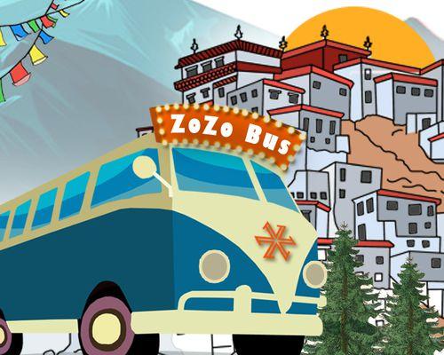 Zostel Escape   ZoZo Bus Spiti - 21st September