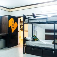 dormitory at Zostel Delhi