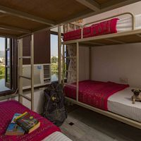 Female only dorm with lake view in  Udaipur Hostel