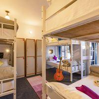 6 bed female dorm in Zostel Mukteshwar