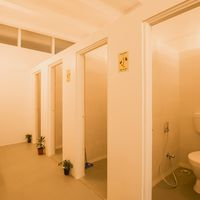 Common Washrooms in Zostel Aurangabad