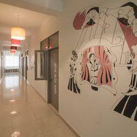 Hostel Lobby