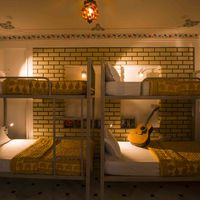 Rajasthani style Mixed Dorm in Udaipur Hostel