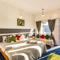 Deluxe private room in Zostel Mukteshwar