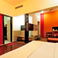 Comfortable private room at our Delhi hostel