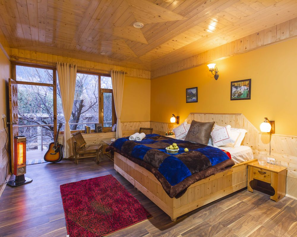 Deluxe private room of ZostelX Rumsu Naggar