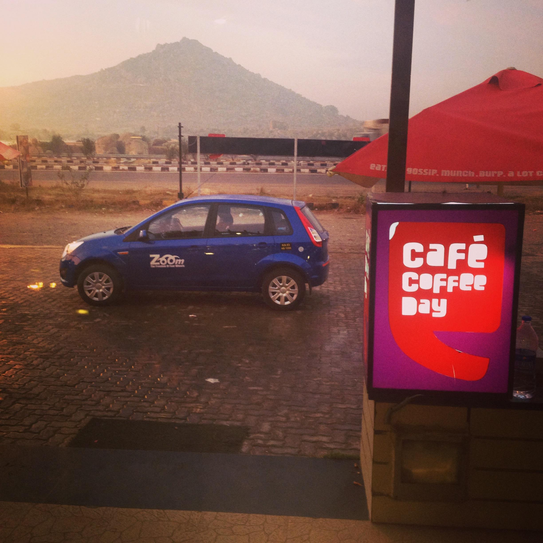 Zoom Car Rental Cafe Coffee Day Kolar