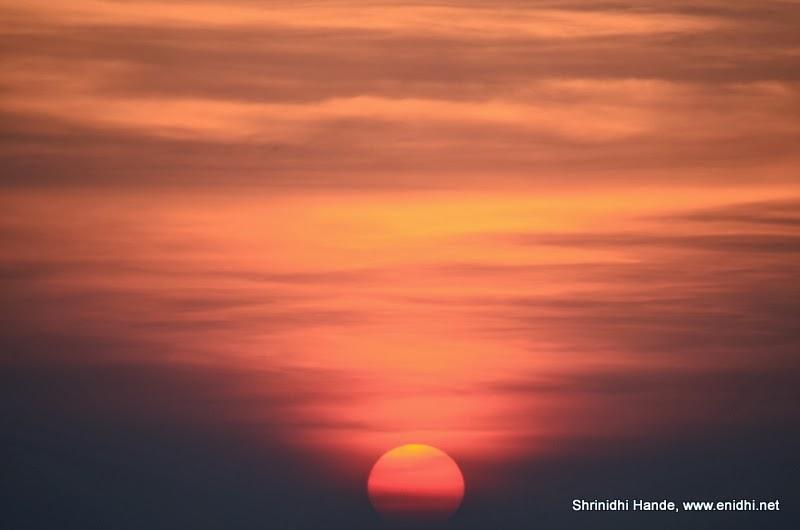 mullayyanagiri chikmagalur-sunset