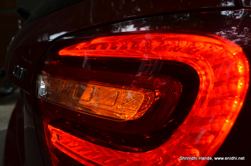 tail lamp closeup