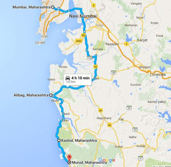 mumbai route