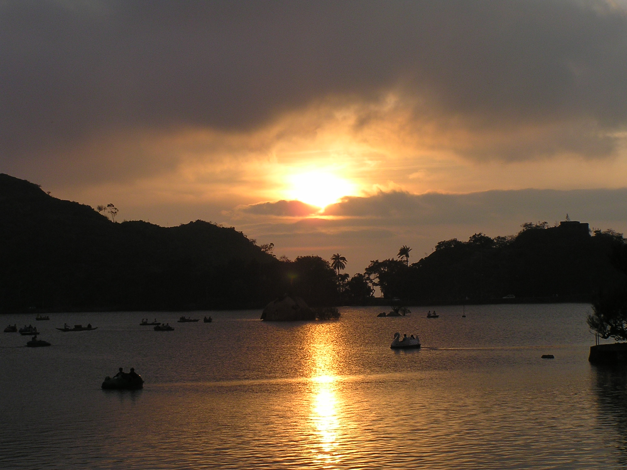 sunset at Mount Abu