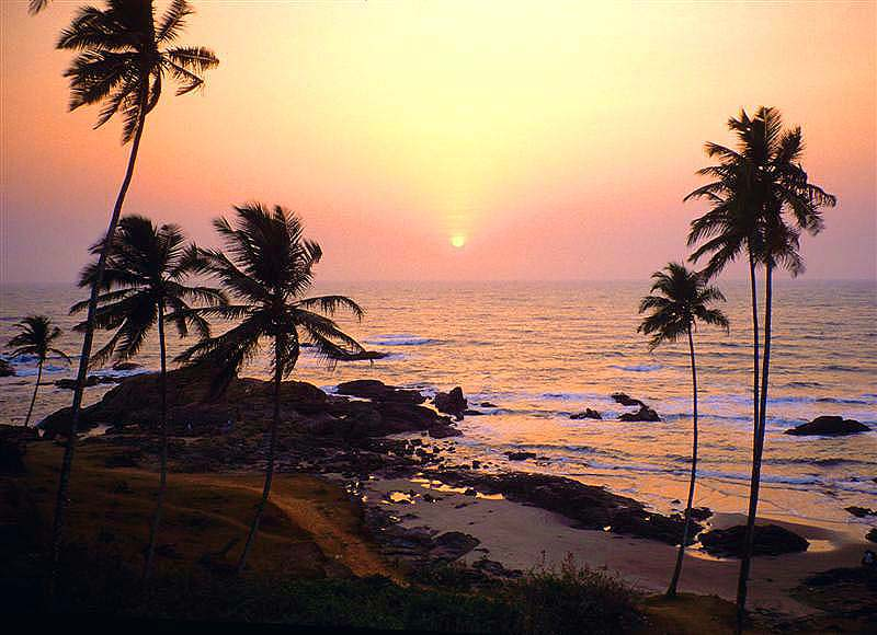 Vagator, Goa_Sunset